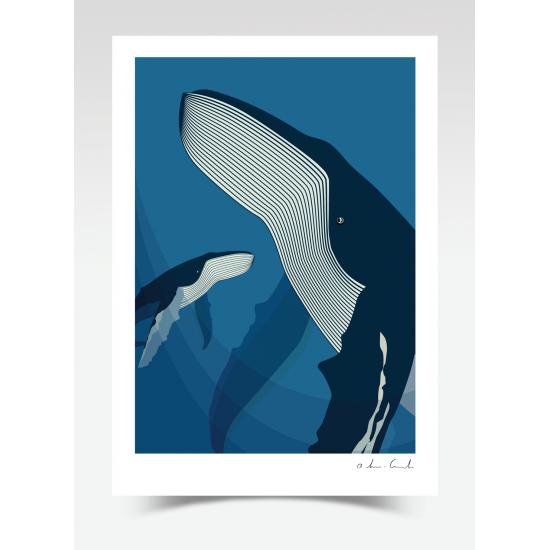 Deep Blue (Print)