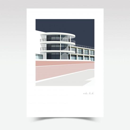 De la Warr Pavilion (Print)