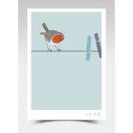 """Inspector"" - Robin (Print)"