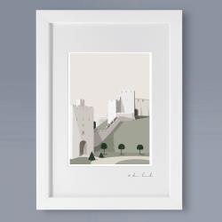 A4 Frame: Arundel Castle Print