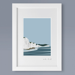 A4 Frame: Seven Sisters Print