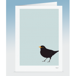 """Brian"" - Blackbird (Card)"