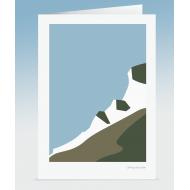 Cliff-top Sea View (Card)