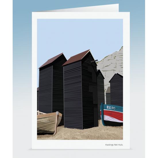 Hastings Net Huts (Card)