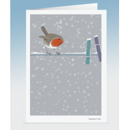 """Inspector Frost"" - Robin (Card)"