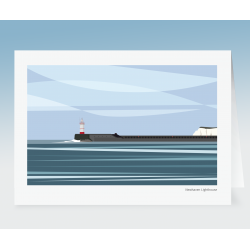 Newhaven Lighthouse (Card)