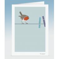 """Inspector"" - Robin (Card)"