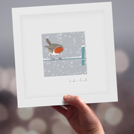 "Framed Mini ""Inspector Frost"" - Robin"
