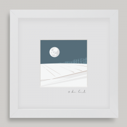Framed Mini Sussex Snow