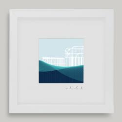 Framed Mini West Pier Brighton