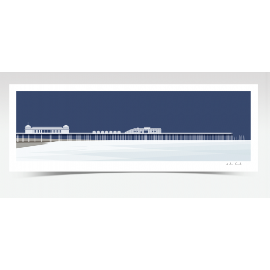 Hastings Pier Panorama