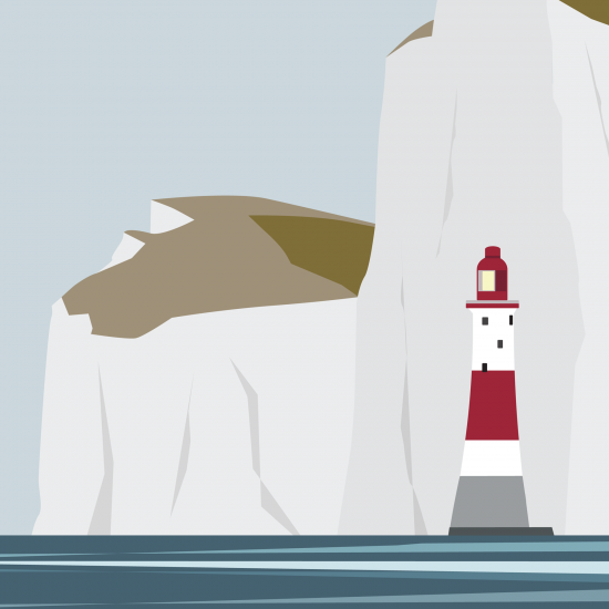 Beachy Head Lighthouse (Print)