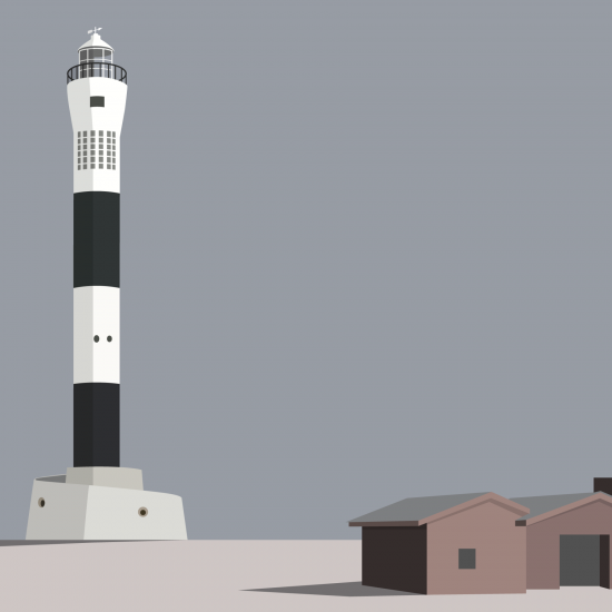 Dungeness Lighthouse (Print)