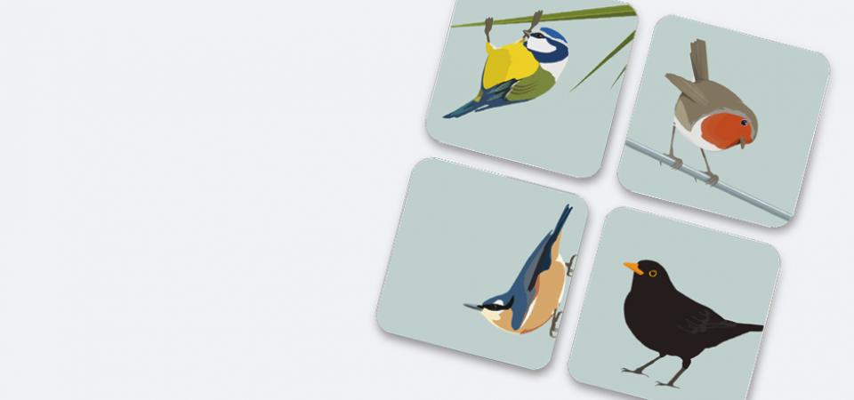 Coasters - Set of 4 Boxed